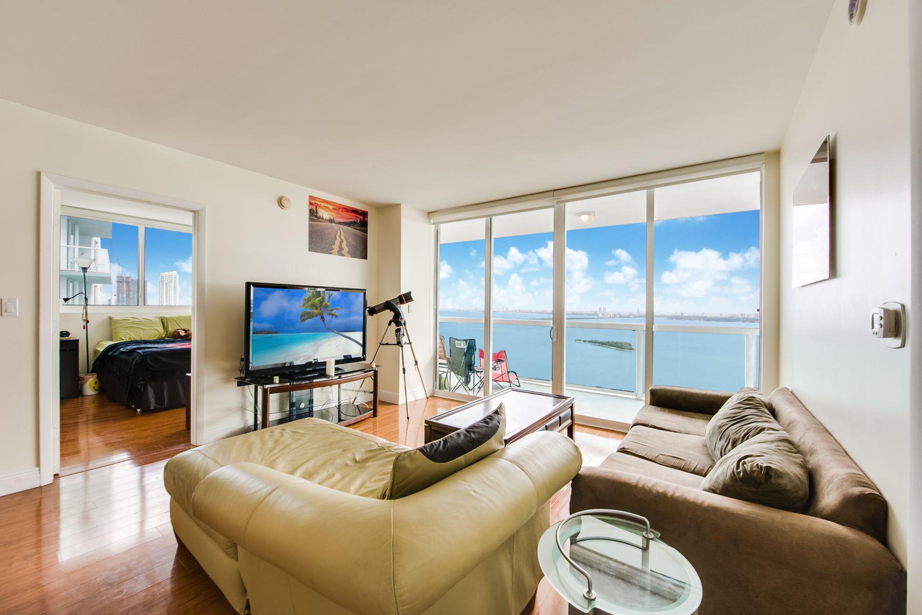 Condominium for Sale at 1800 N Bayshore Dr 1800 N Bayshore Dr 3509, Miami, Florida, 33132 United States