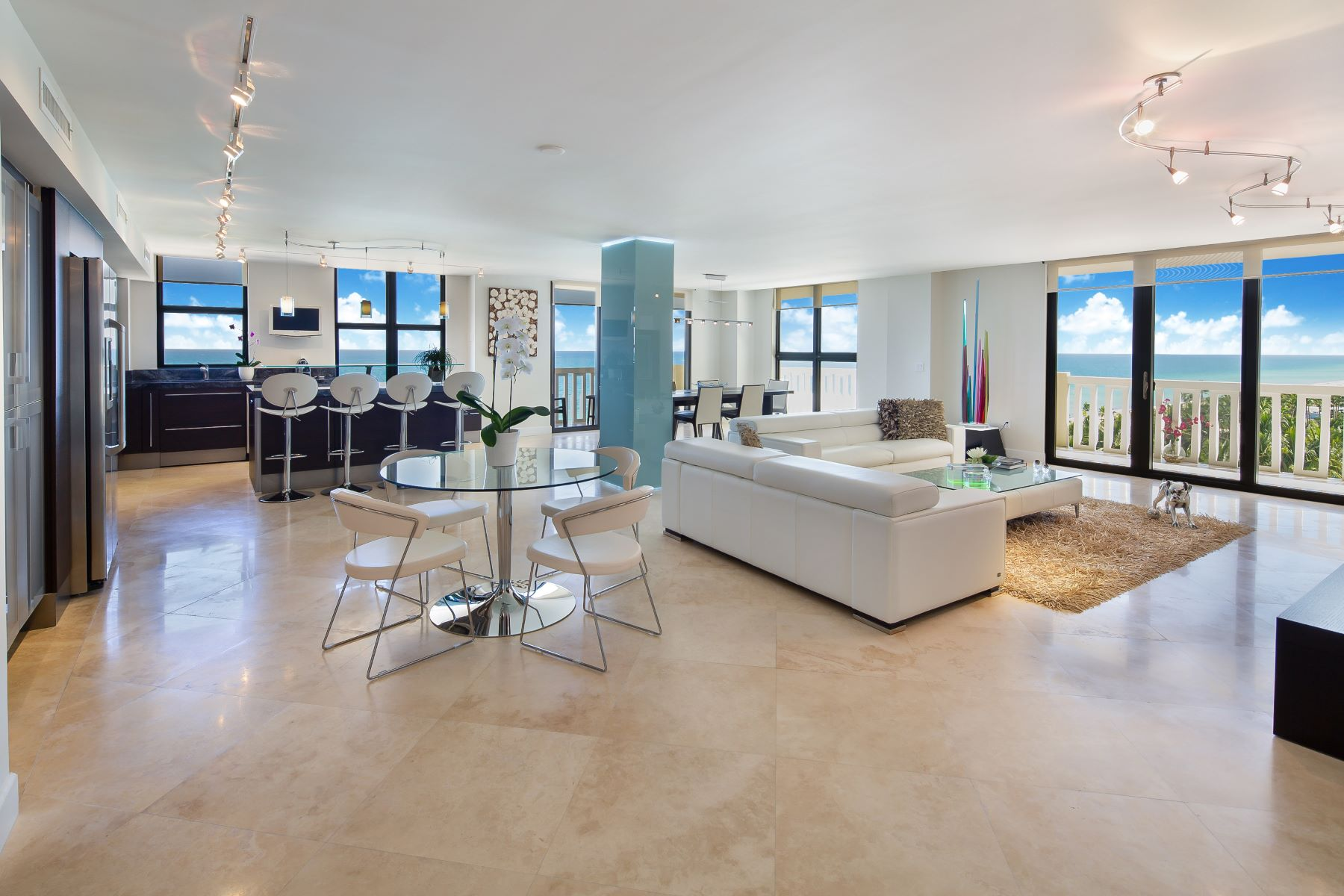 condominiums for Active at 9801 Collins Ave #11B 9801 Collins Ave 11B Bal Harbour, Florida 33154 United States
