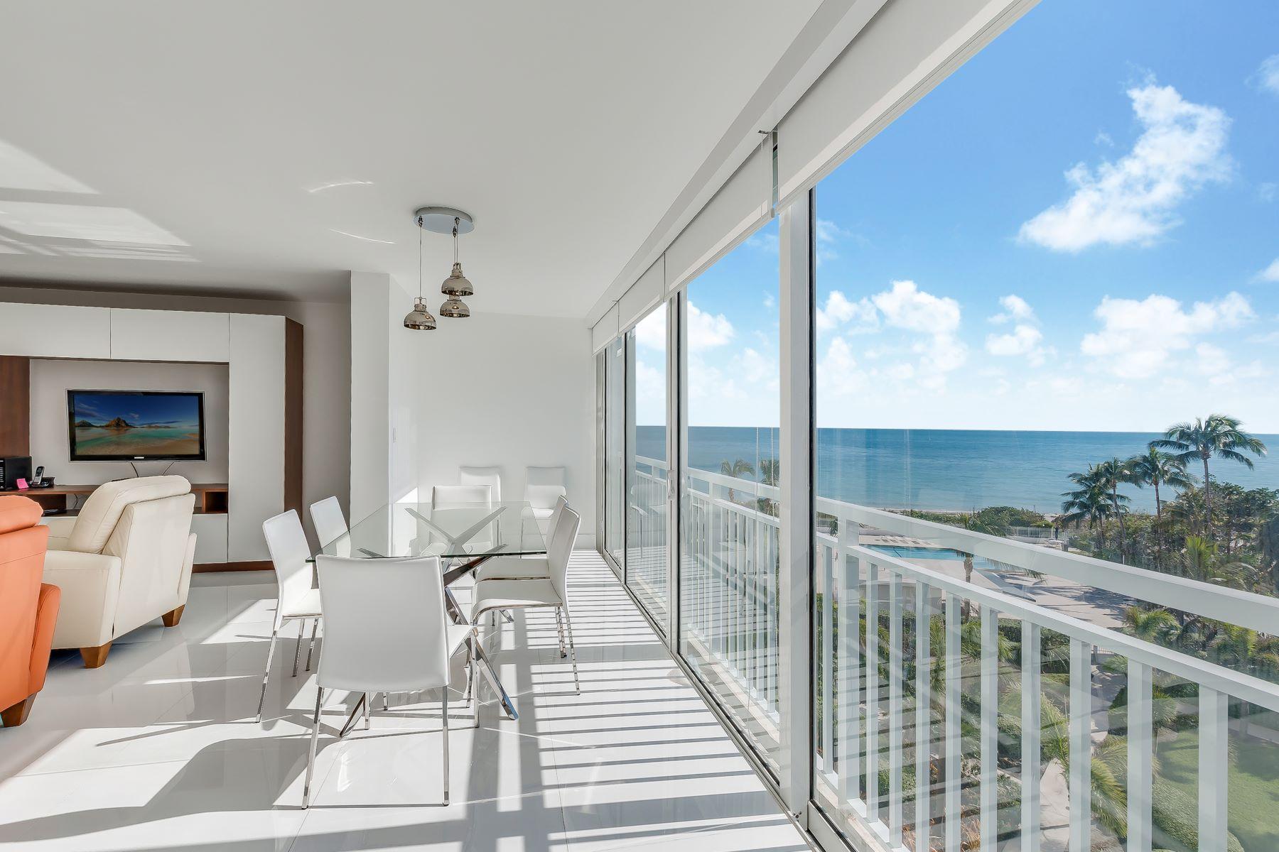 شقة بعمارة للـ Sale في 609 Ocean Drive 609 Ocean Drive 6G, Key Biscayne, Florida, 33149 United States