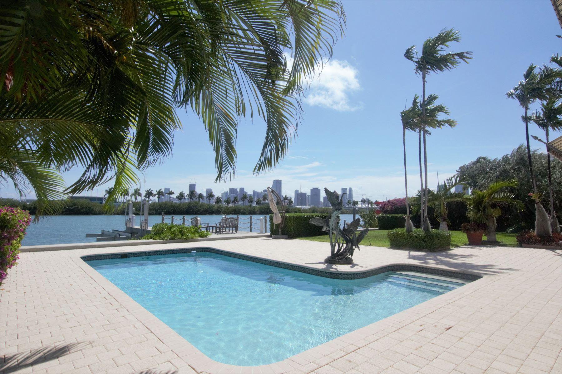 Maison unifamiliale pour l Vente à 266 S Coconut Ln 266 SCoconut Ln Miami Beach, Florida, 33139 États-Unis