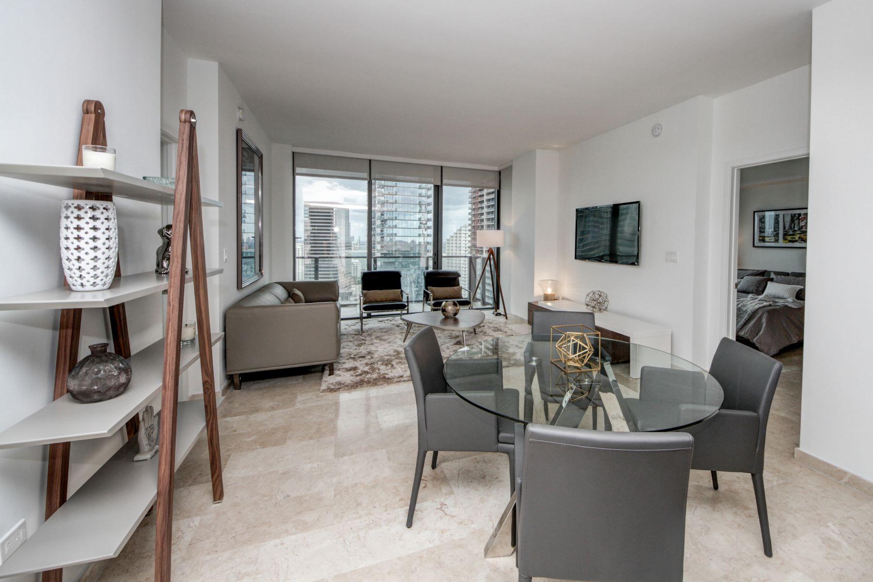 Condominium for Rent at 88 Sw 7th St 88 Sw 7th St 2605 Miami, Florida 33130 United States