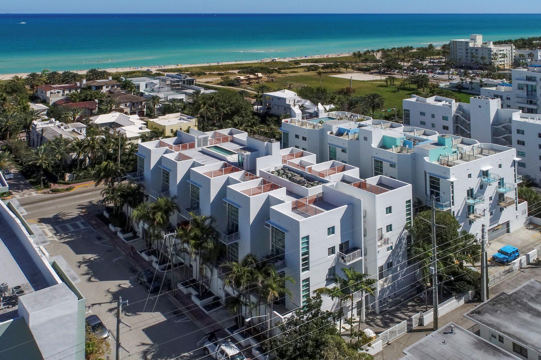 共管式独立产权公寓 为 销售 在 7744 Collins Ave 7744 Collins Ave 18, 迈阿密海滩, 佛罗里达州, 33141 美国