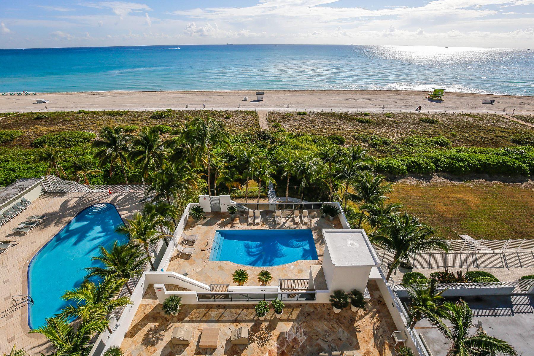 Nhà chung cư vì Bán tại 5801 Collins Ave #800 5801 Collins Ave 800 Miami Beach, Florida, 33140 Hoa Kỳ