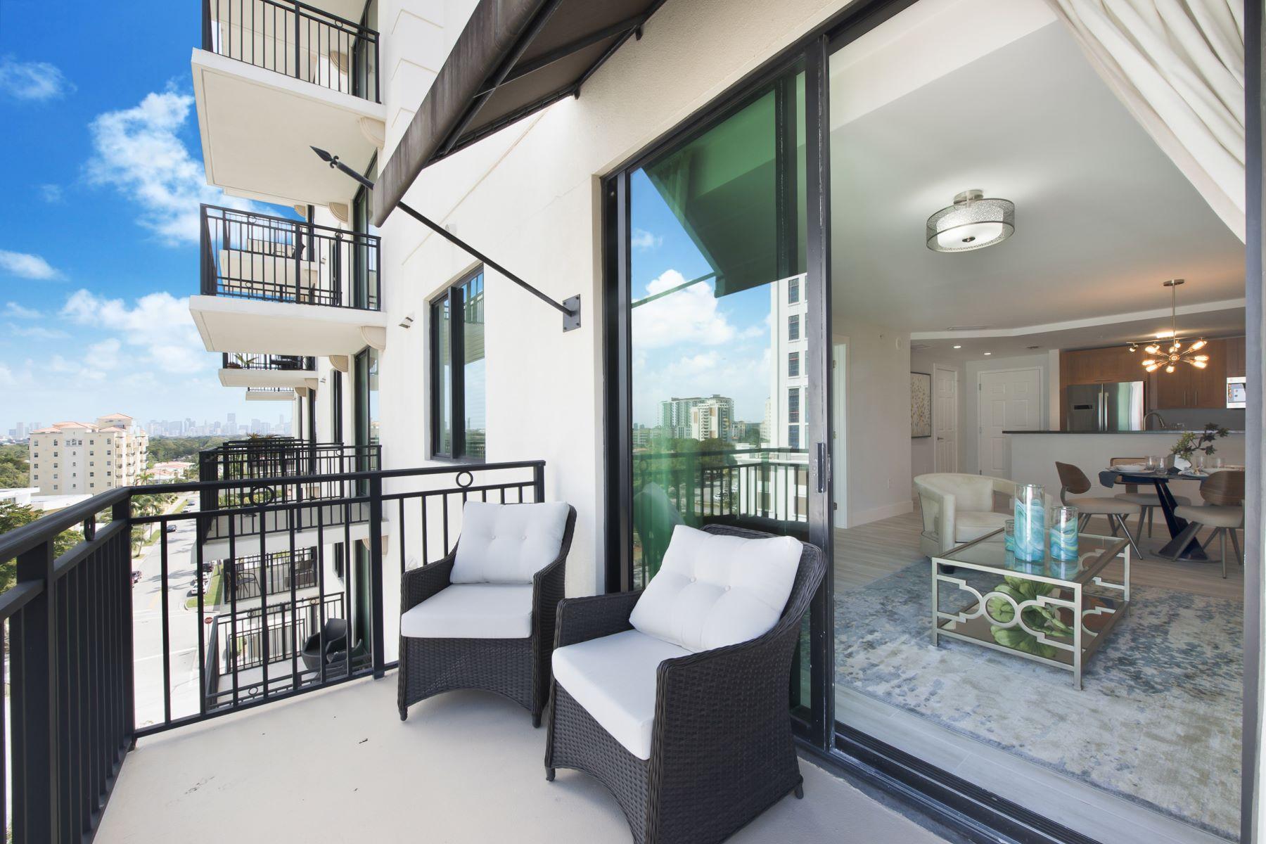 شقة بعمارة للـ Sale في 1300 Ponce De Leon Blvd 1300 Ponce De Leon Blvd 800, Coral Gables, Florida, 33134 United States