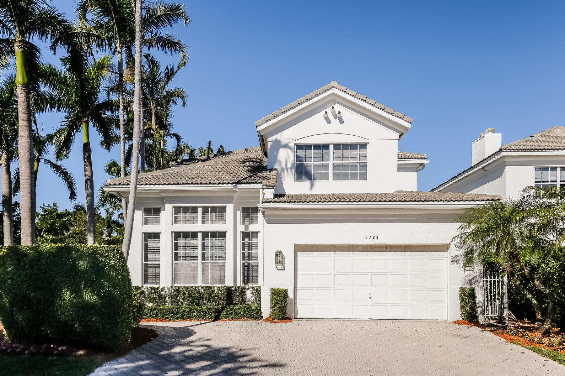 Частный односемейный дом для того Продажа на 3703 Ne 199th St Aventura, Флорида, 33180 Соединенные Штаты