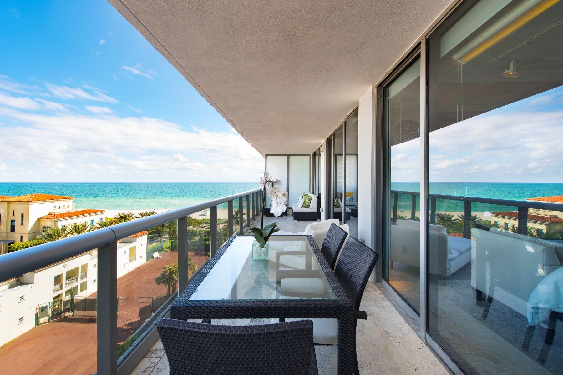 Kat Mülkiyeti için Satış at 5875 Collins Ave 5875 Collins Ave 805, Miami Beach, Florida, 33140 Amerika Birleşik Devletleri
