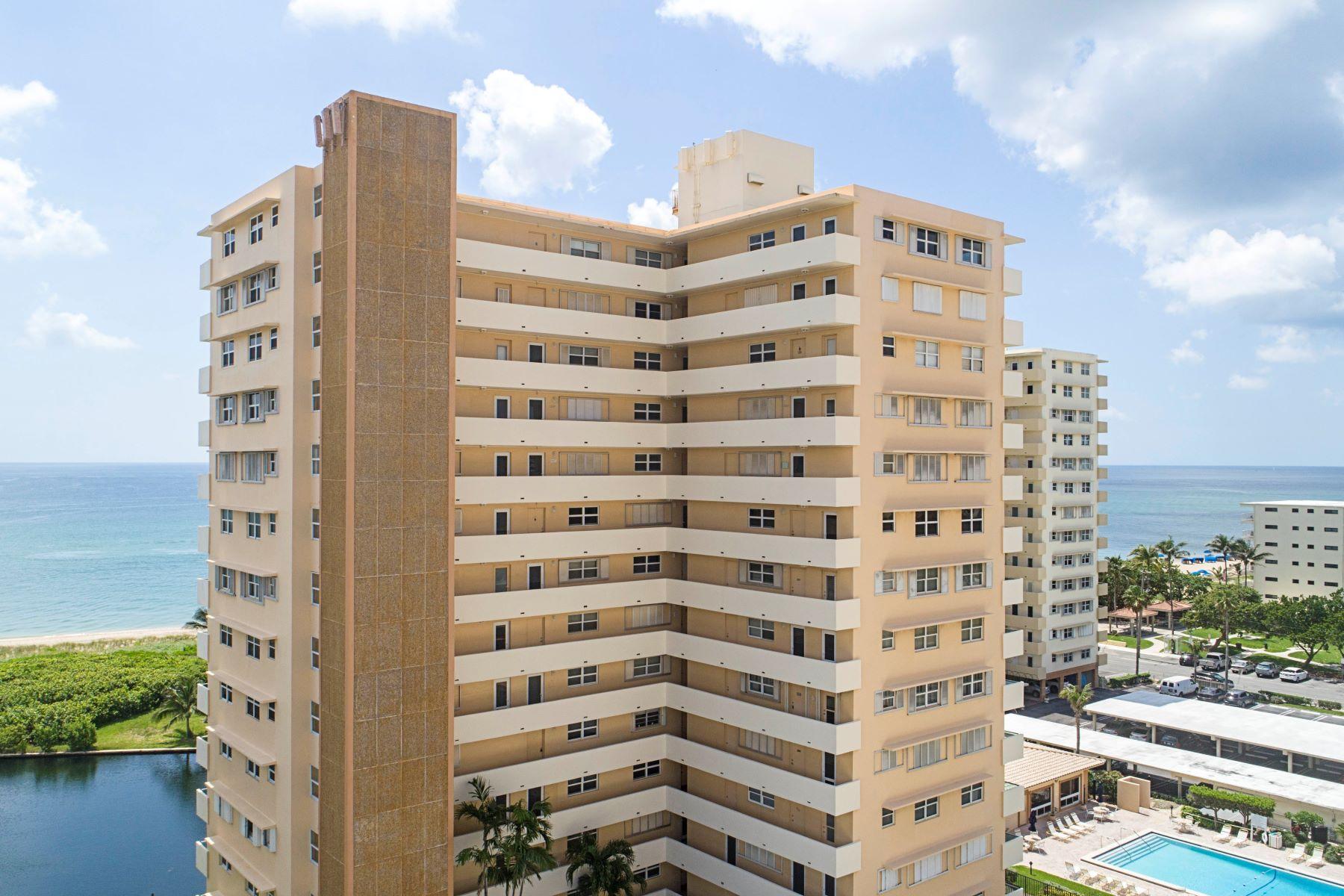 Eigentumswohnung für Verkauf beim 1620 N Ocean Blvd 1620 N Ocean Blvd PH10 Pompano Beach, Florida 33062 Vereinigte Staaten
