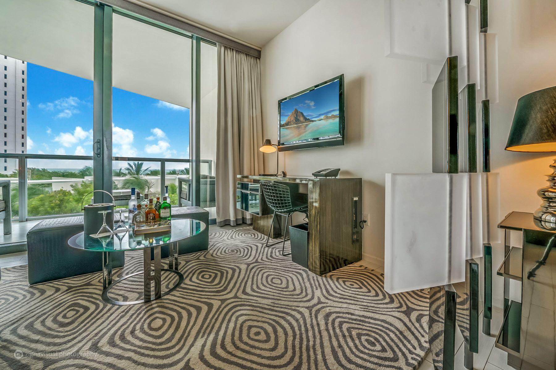 Condominium for Sale at 2201 COLLINS AVE # 423 2201 Collins Ave 423 Miami Beach, Florida, 33139 United States