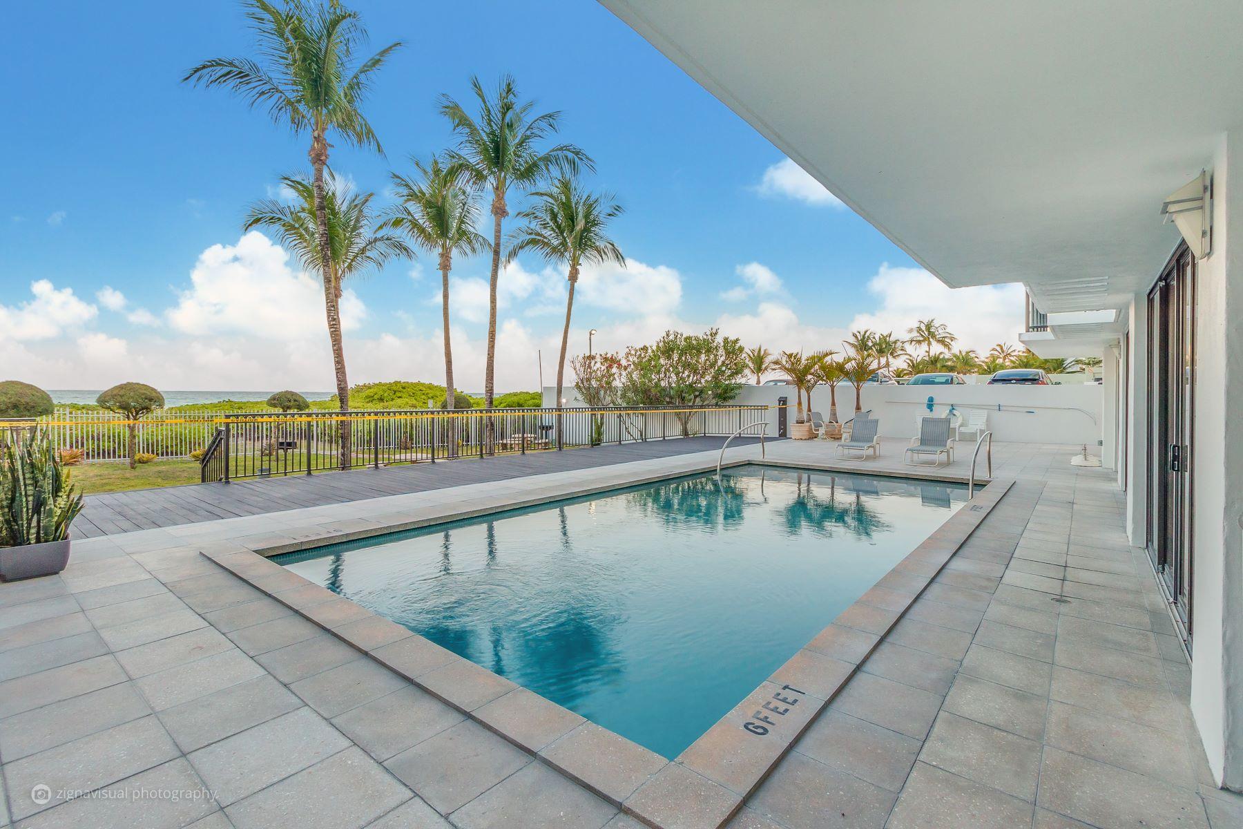 Condomínio para Venda às 5845 Collins Ave #504 5845 Collins Ave 504 Miami Beach, Florida, 33140 Estados Unidos
