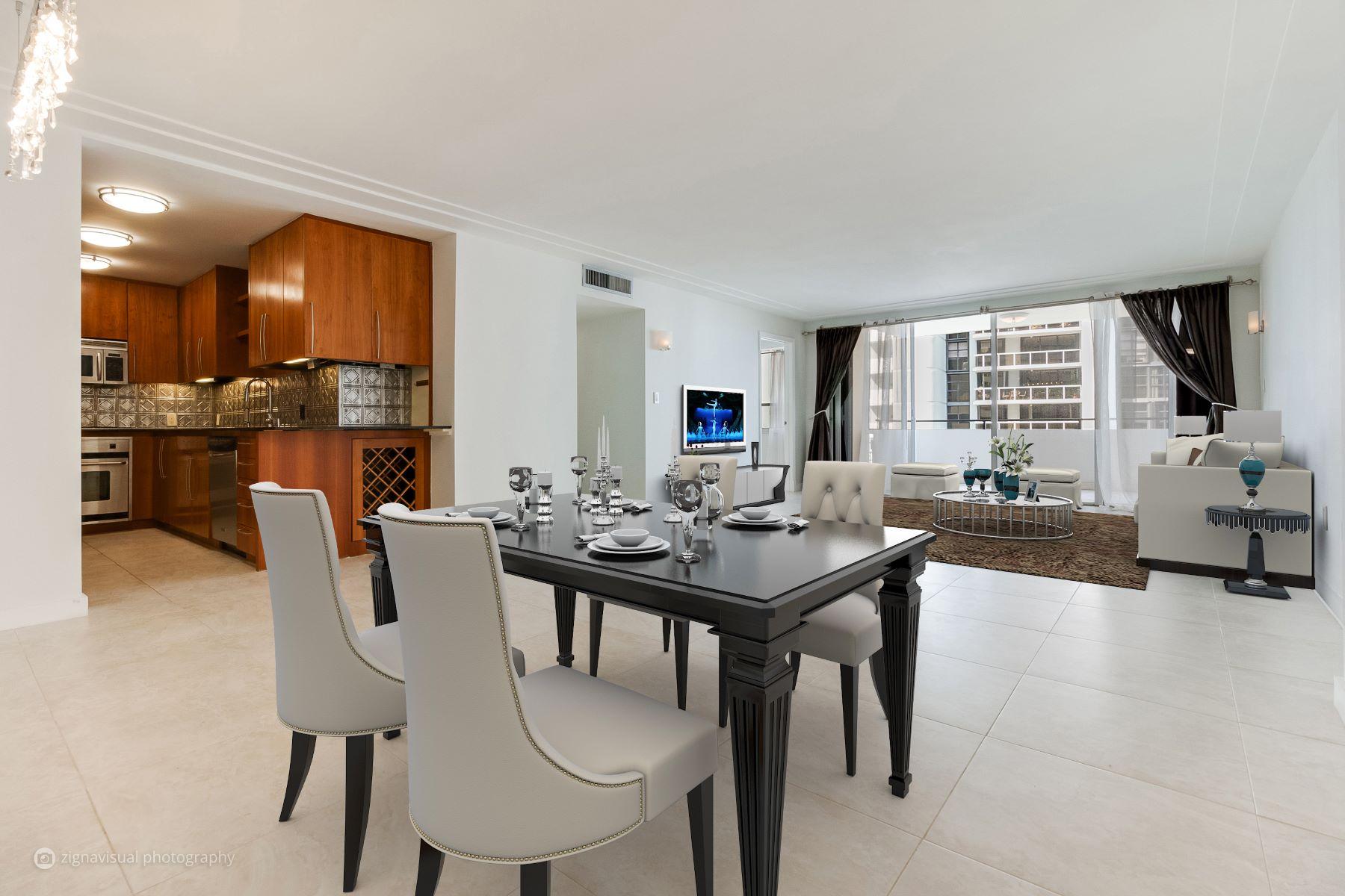 共管式独立产权公寓 为 销售 在 11 Island Ave #1407 11 Island Ave 1407 迈阿密海滩, 佛罗里达州, 33139 美国