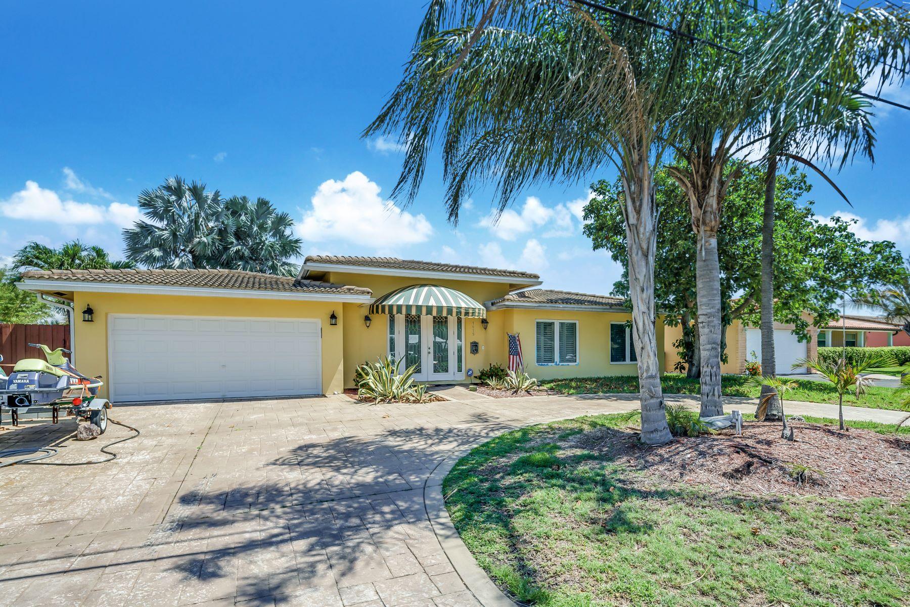 단독 가정 주택 용 매매 에 1419 Ne 57th St Fort Lauderdale, 플로리다, 33334 미국