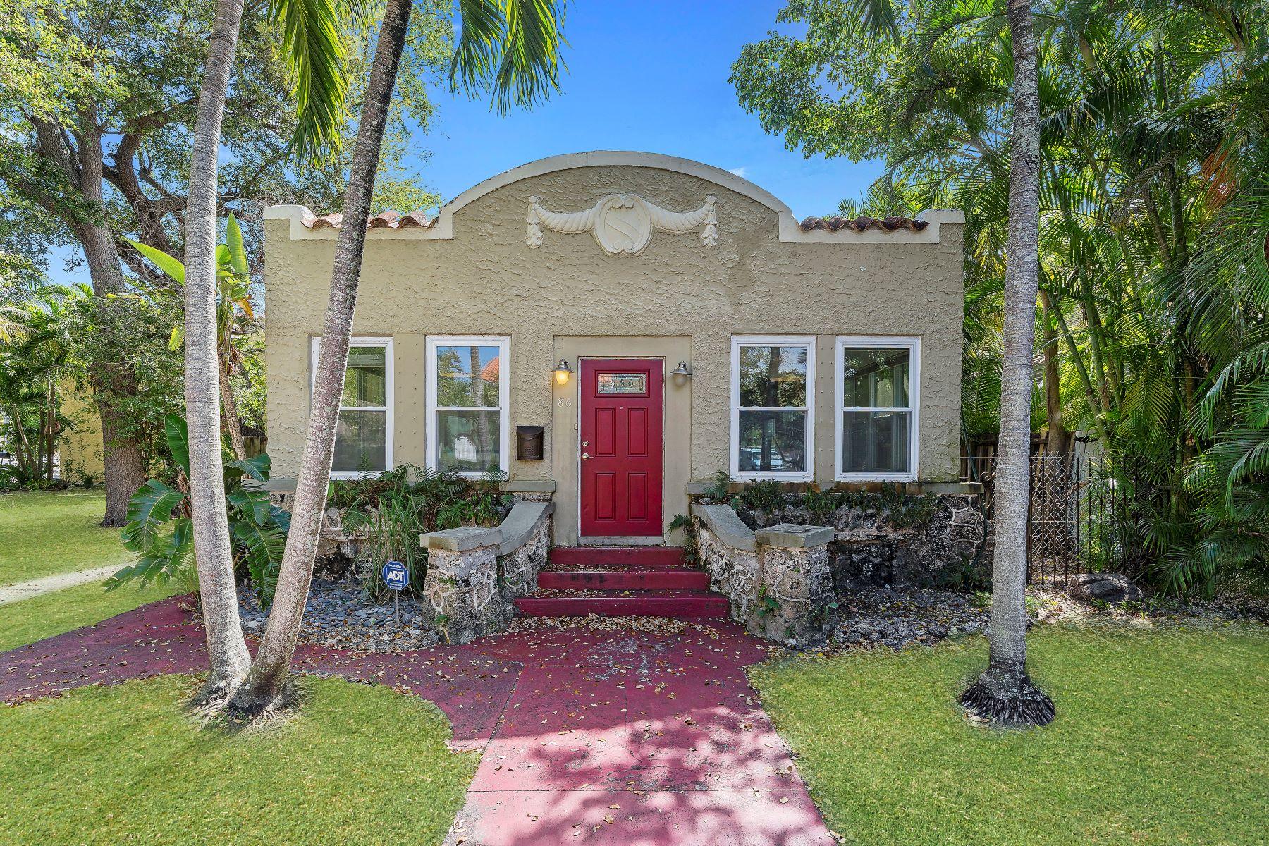 Частный односемейный дом для того Продажа на 86 Ne 47th St Miami, Флорида, 33137 Соединенные Штаты