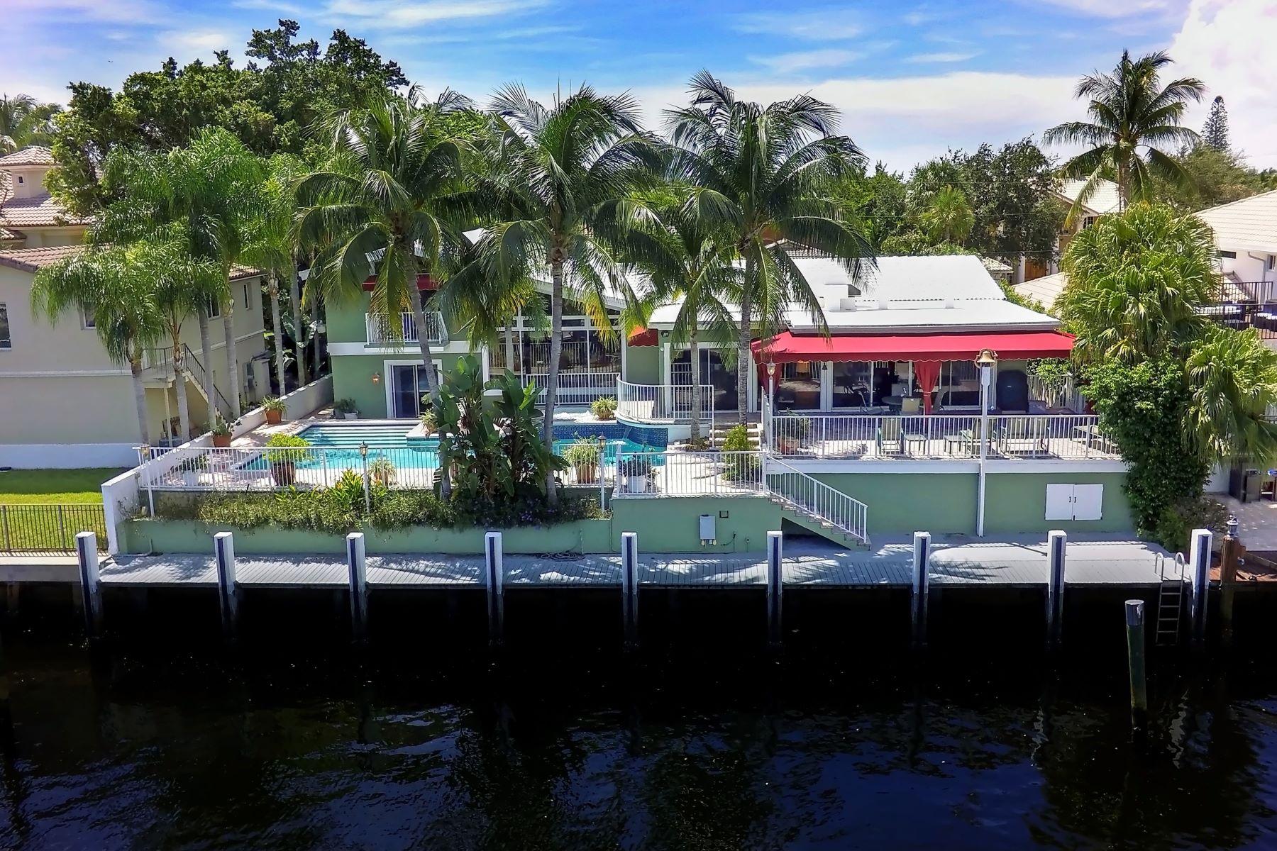 一戸建て のために 売買 アット 3101 Ne 46th St Fort Lauderdale, フロリダ, 33308 アメリカ合衆国