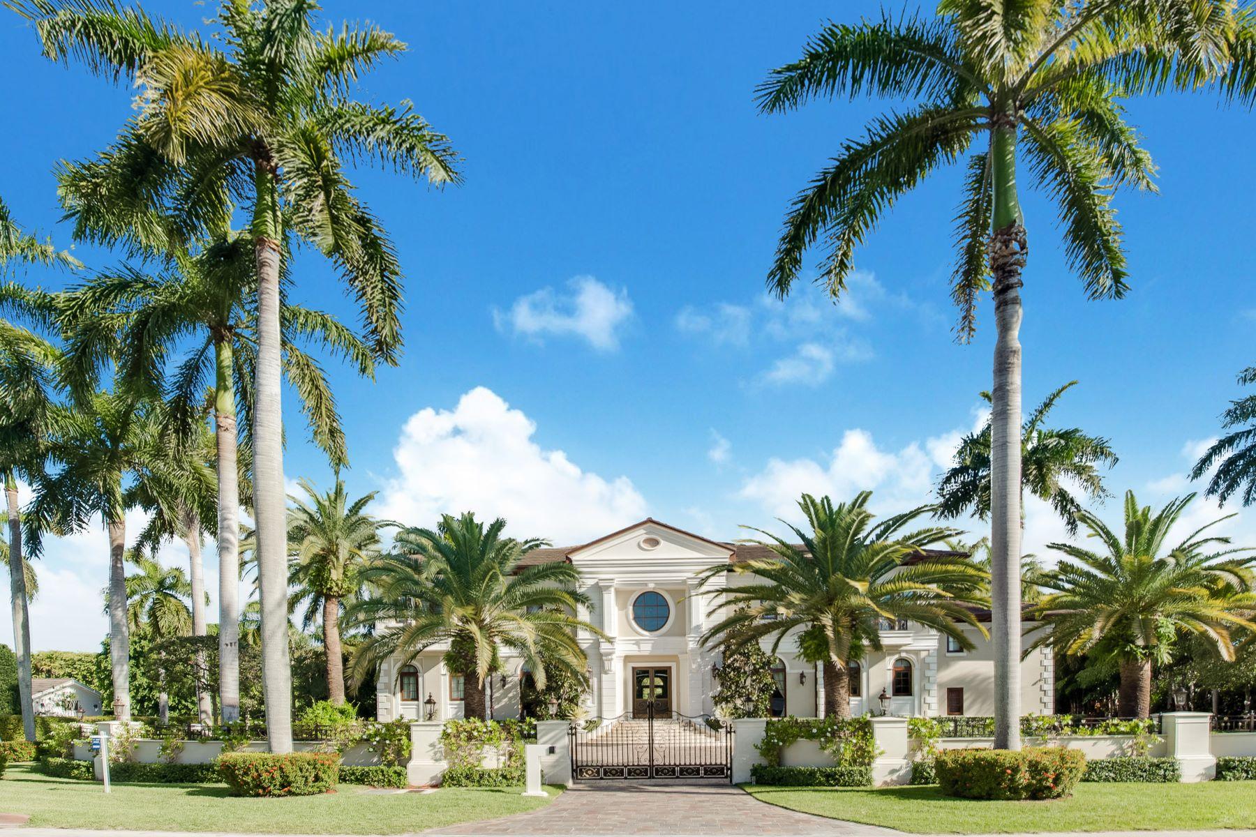 Maison unifamiliale pour l Vente à 631 Arvida Pkwy Coral Gables, Florida, 33156 États-Unis
