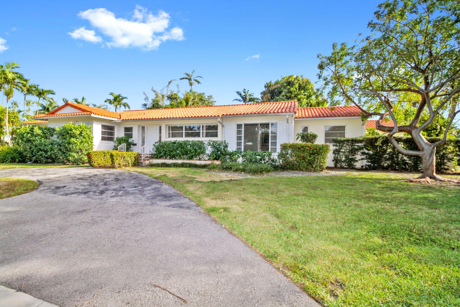 واحد منزل الأسرة للـ Sale في 1550 N View Dr Miami Beach, Florida, 33140 United States