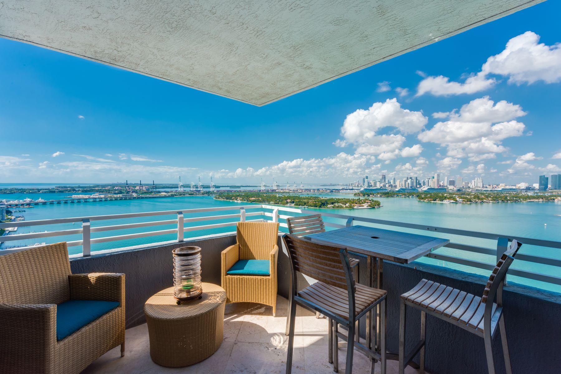콘도미니엄 용 매매 에 1330 West Ave #2802 1330 West Ave 2802 Miami Beach, 플로리다, 33139 미국