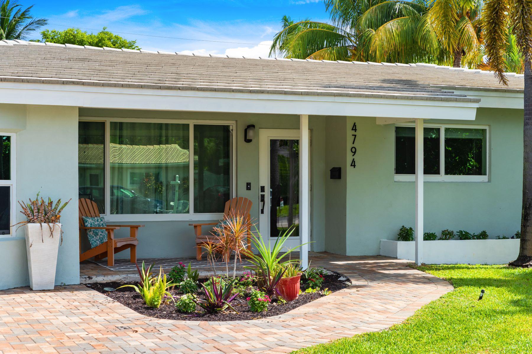 Single Family Homes için Satış at Oakland Park, Florida 33334 Amerika Birleşik Devletleri