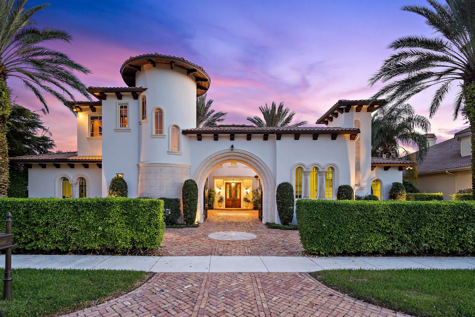 Single Family Homes für Verkauf beim Palm Beach Gardens, Florida 33418 Vereinigte Staaten