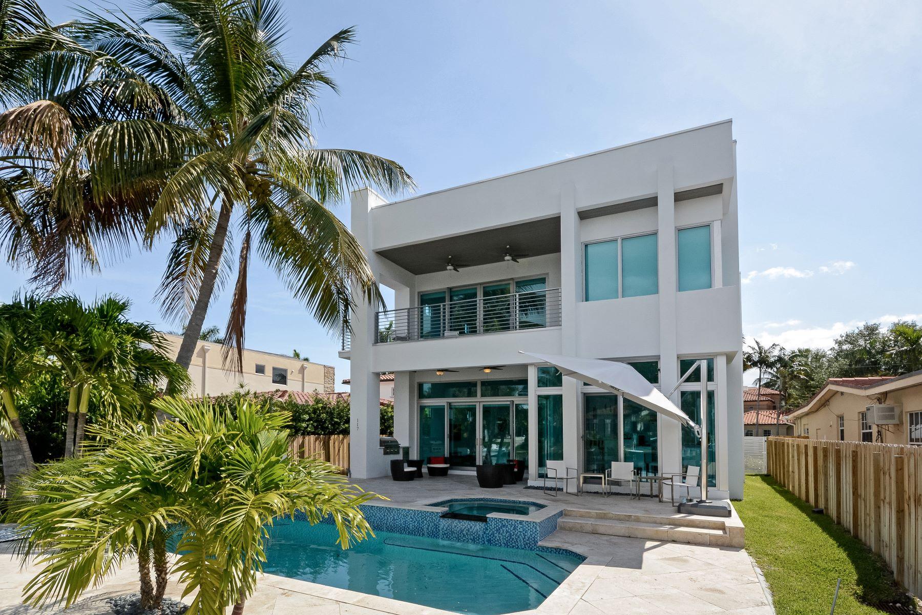 Casa Unifamiliar por un Alquiler en 117 S Gordon Rd 117 SGordon Rd Fort Lauderdale, Florida 33301 Estados Unidos