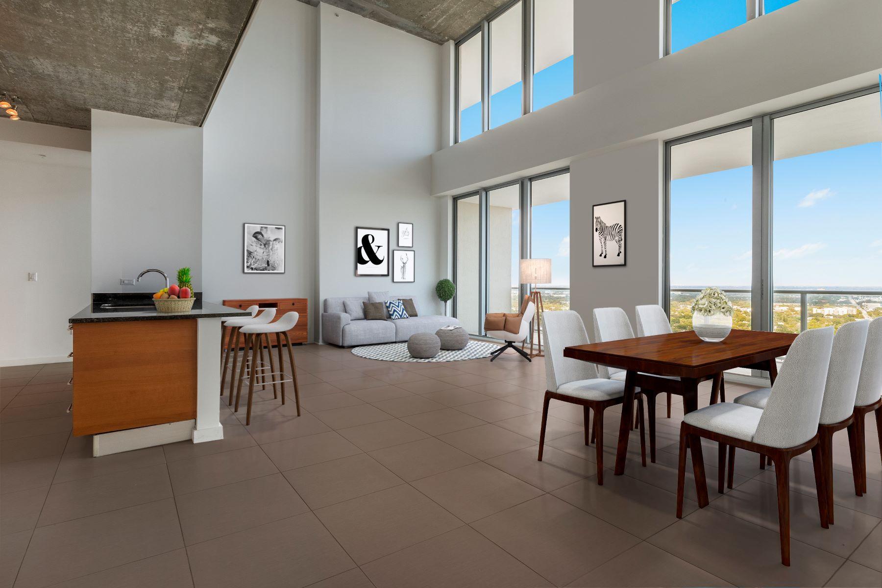 共管式独立产权公寓 为 销售 在 3470 E Coast Ave #Ph102 3470 E Coast Ave PH102 迈阿密, 佛罗里达州, 33137 美国