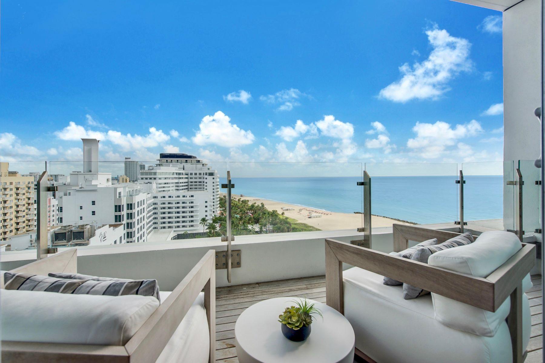 Condomínio para Locação às 2901 Collins Ave 2901 Collins Ave 1408 Miami, Florida 33140 Estados Unidos