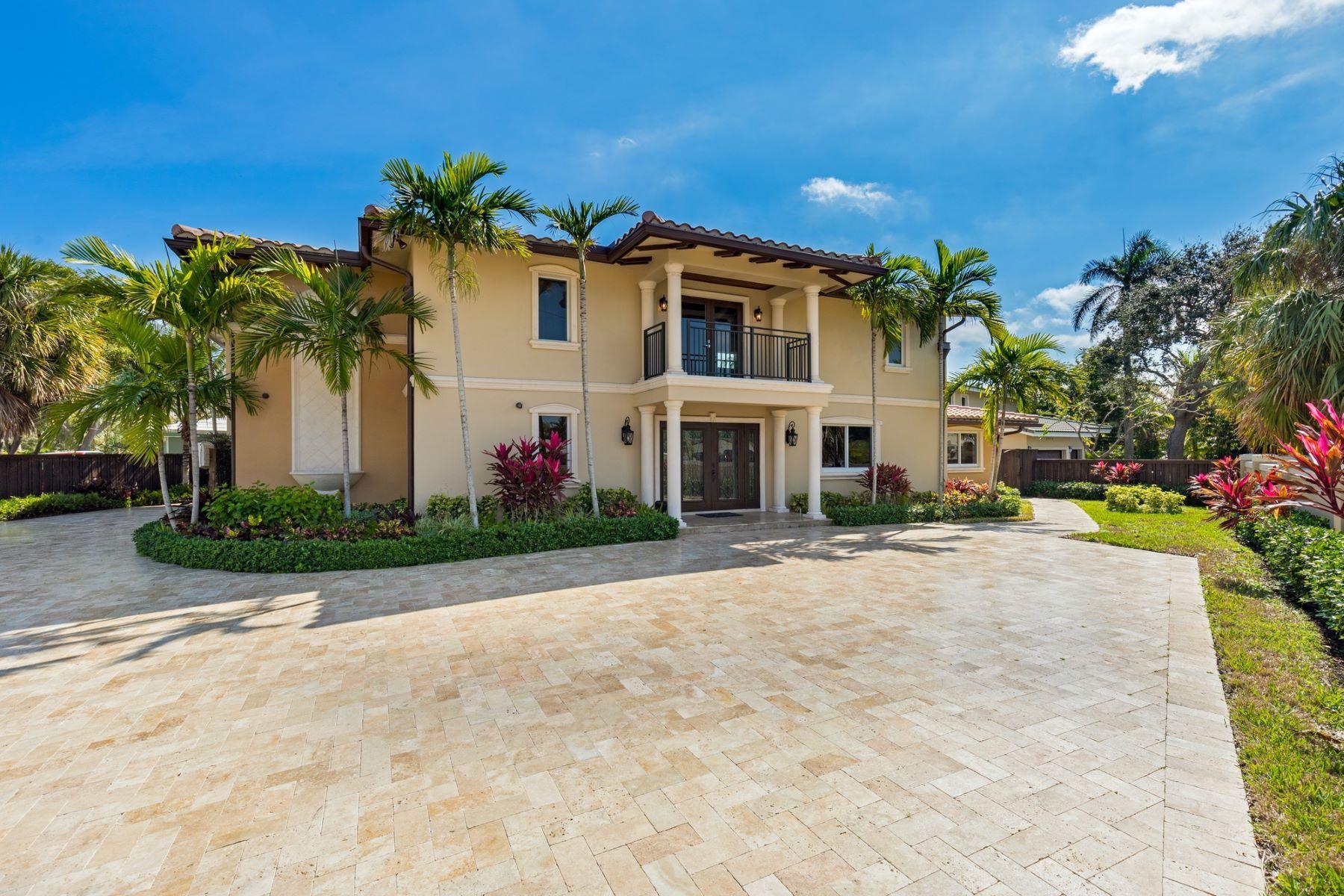 Casa para uma família para Venda às 2440 Bayview Dr Fort Lauderdale, Florida, 33305 Estados Unidos