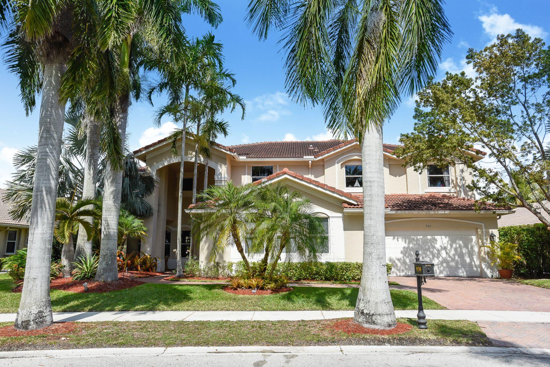 Tek Ailelik Ev için Satış at 930 Tradewinds Bend Weston, Florida, 33327 Amerika Birleşik Devletleri