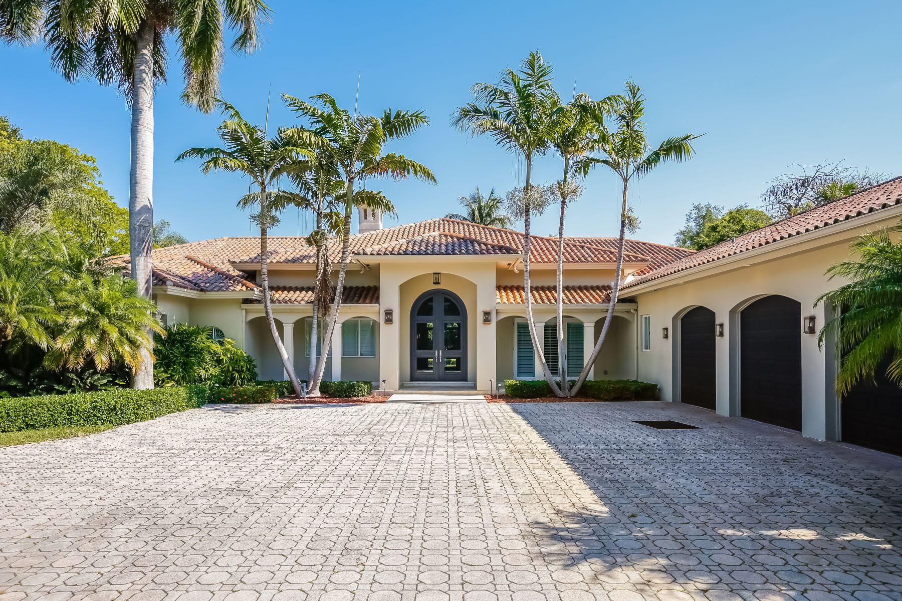 独户住宅 为 销售 在 6501 Sw 92nd St 派恩克雷斯特, 佛罗里达州, 33156 美国