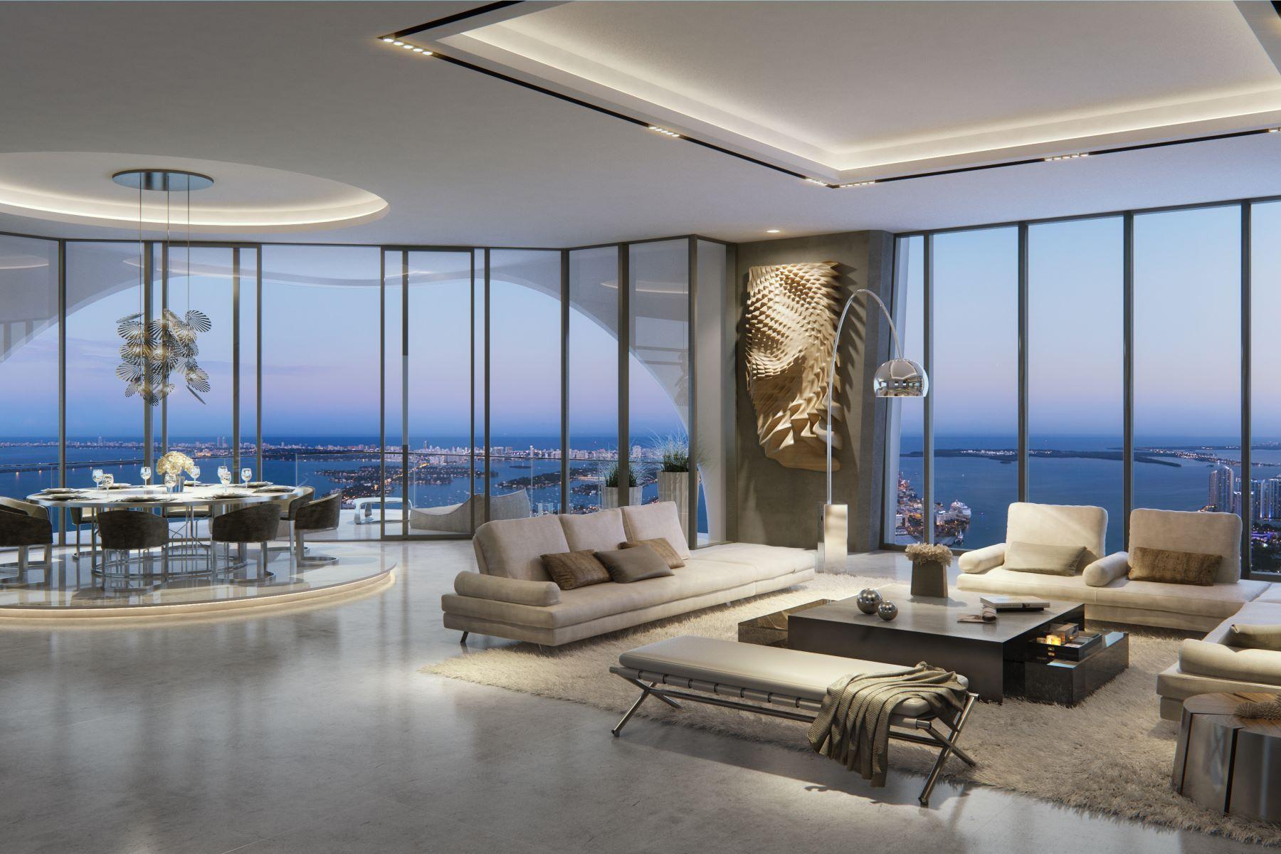 Πολυκατοικία ατομικής ιδιοκτησίας για την Πώληση στο One Thousand Museum 1000 Biscayne Blvd 1202 Miami, Φλοριντα 33132 Ηνωμενεσ Πολιτειεσ