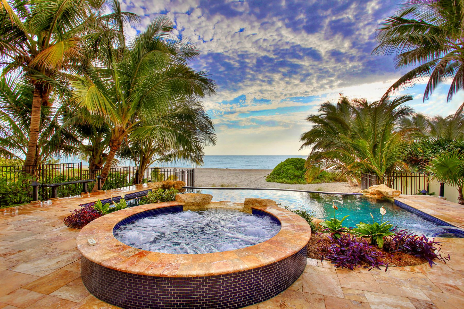 Single Family Homes for Sale at 101 Ocean Blvd Golden Beach, Florida 33160 United States