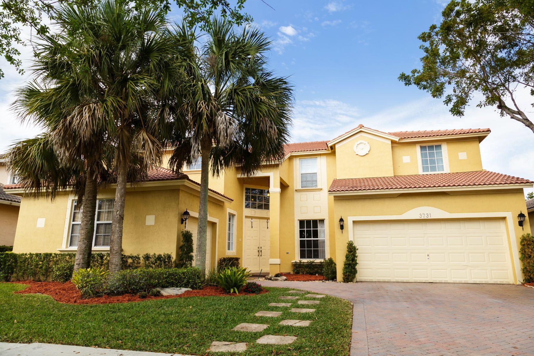 Tek Ailelik Ev için Satış at 3731 W Gardenia Ave Weston, Florida, 33332 Amerika Birleşik Devletleri