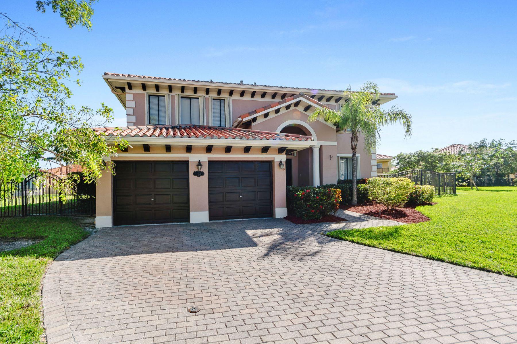 Casa para uma família para Locação às 7501 Sw 190th St 7501 Sw 190th St Cutler Bay, Florida 33157 Estados Unidos