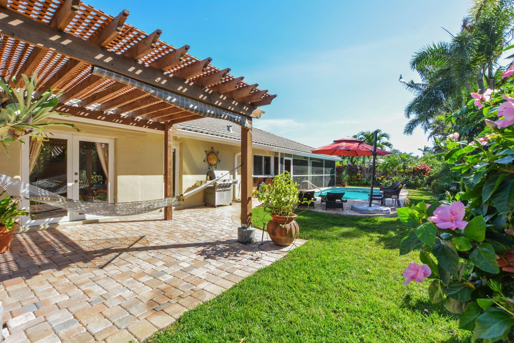 단독 가정 주택 용 매매 에 4515 Ne 22nd Rd Fort Lauderdale, 플로리다, 33308 미국