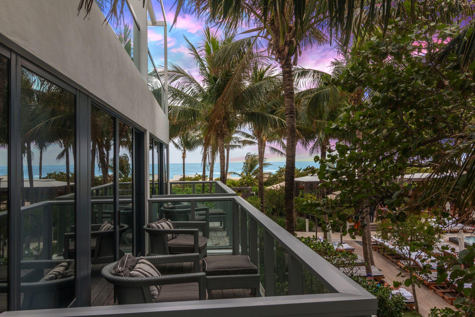共管式独立产权公寓 为 销售 在 2201 Collins Ave 2201 Collins Ave BNGL 3, 迈阿密海滩, 佛罗里达州, 33139 美国