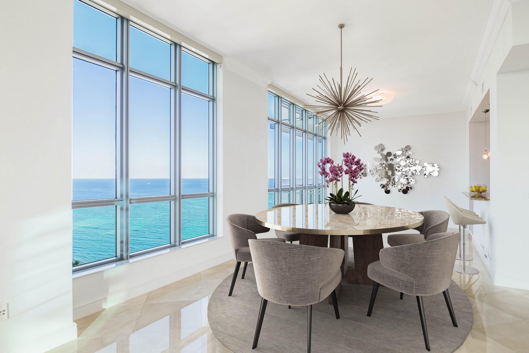 Single Family Homes por un Venta en 3535 S Ocean Dr 2606 Hollywood, Florida 33019 Estados Unidos