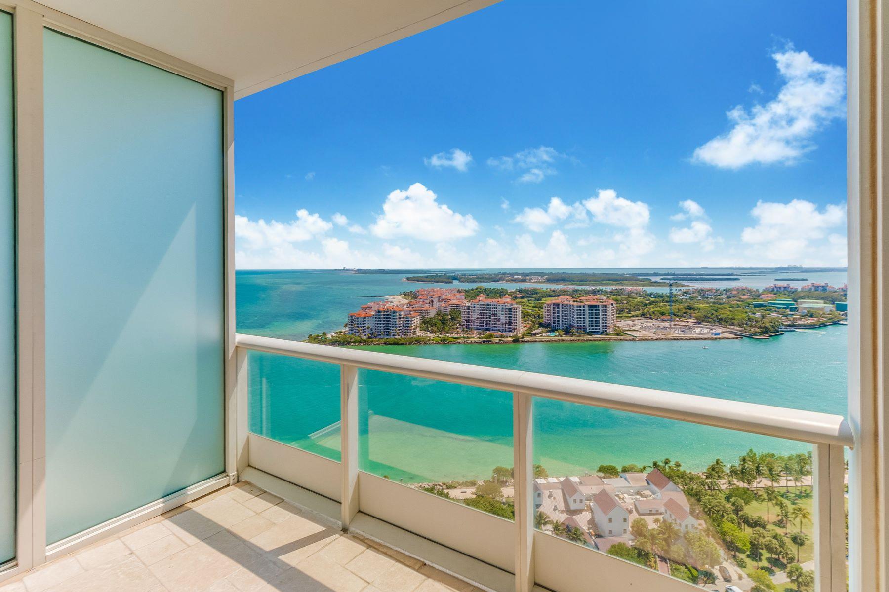 Кондоминиум для того Продажа на 100 S Pointe Dr #2703 100 SPointe Dr 2703 Miami Beach, Флорида, 33139 Соединенные Штаты