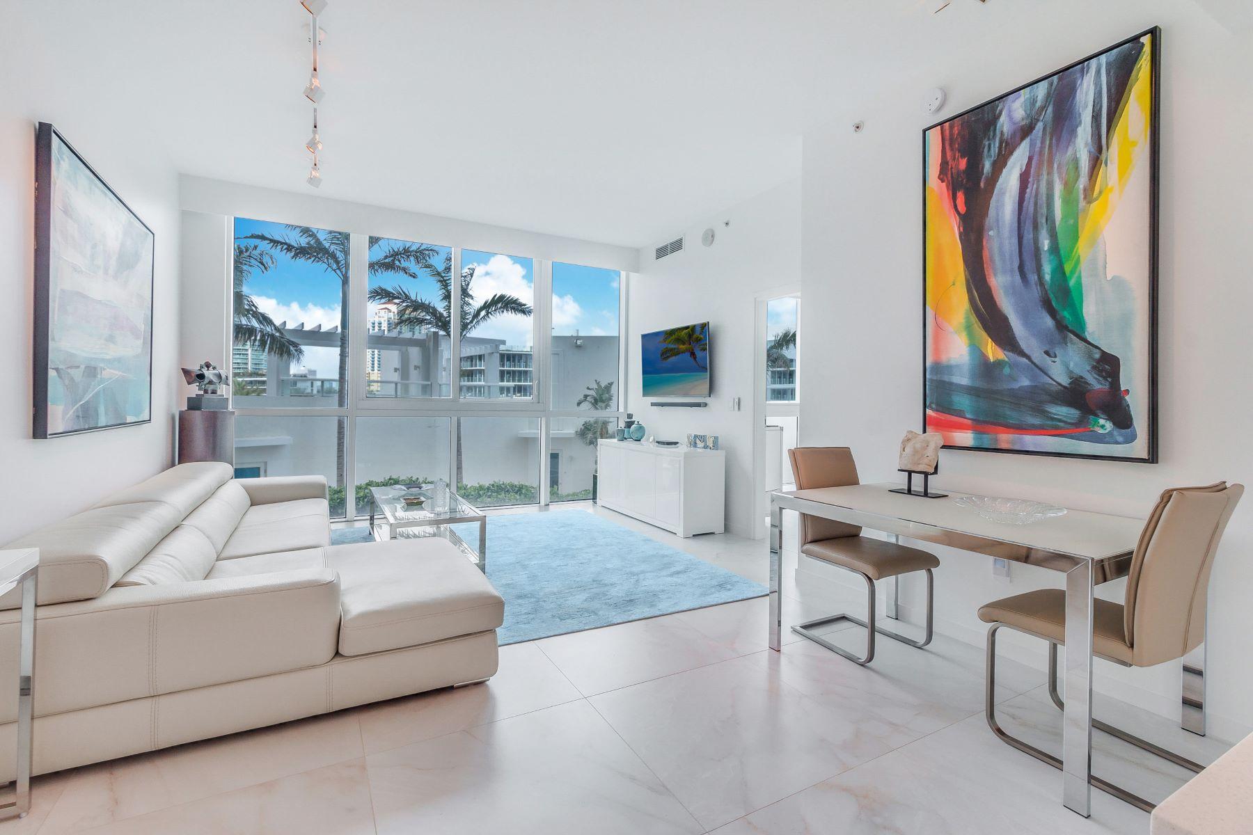 共管式独立产权公寓 为 销售 在 50 S Pointe Dr 50 S Pointe Dr 612, 迈阿密海滩, 佛罗里达州, 33139 美国
