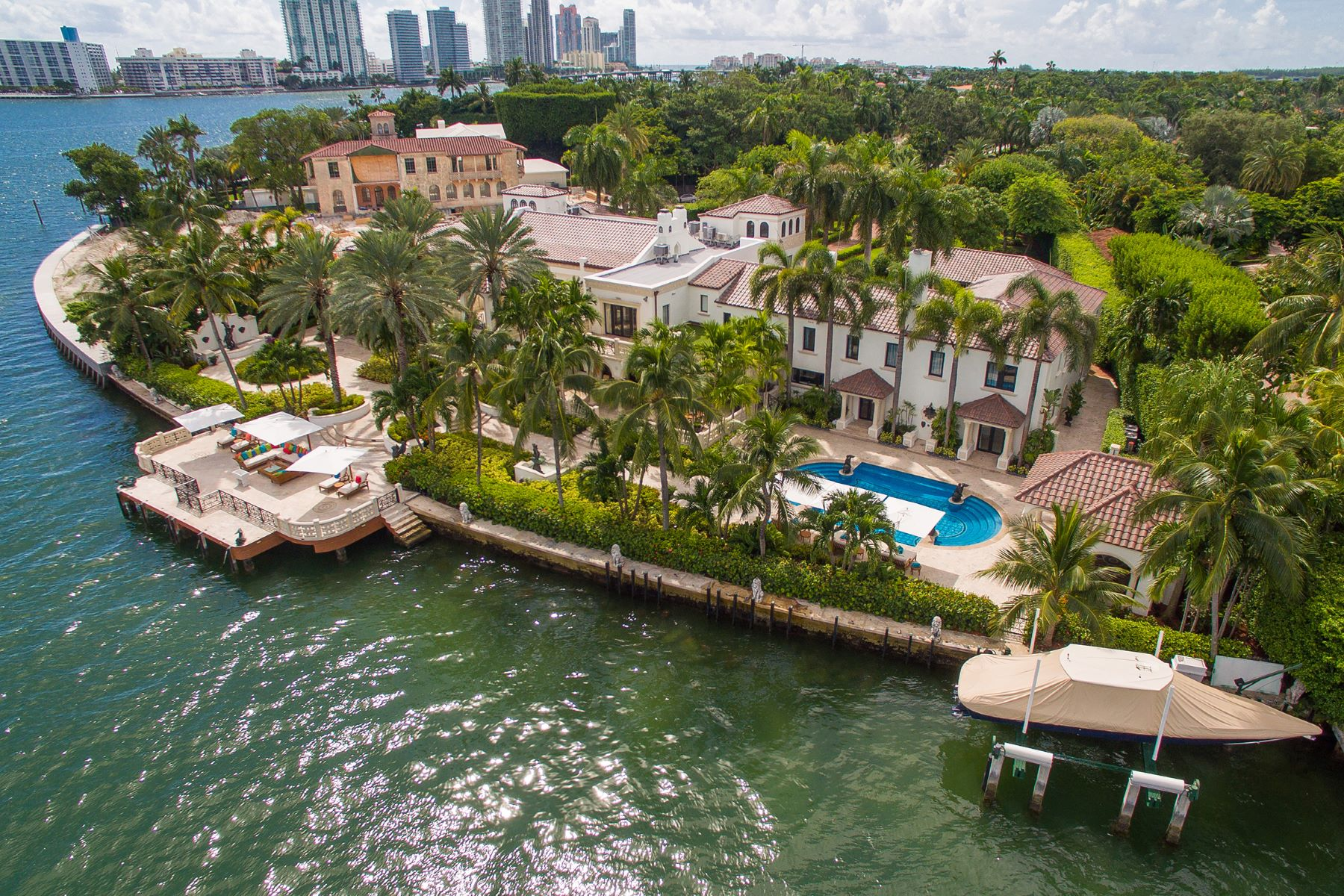 Single Family Home for Sale at 46 Star Island Drive 46 Star Island Drive Miami Beach, Florida 33139 United States