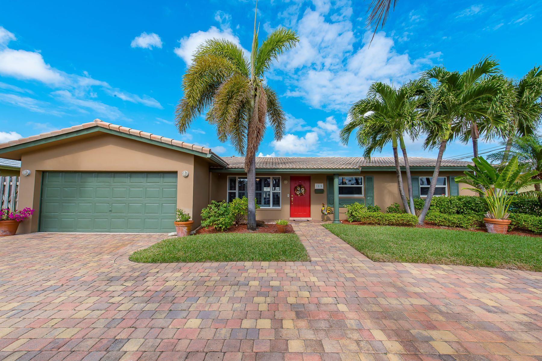 一戸建て のために 売買 アット 1419 Ne 53rd Ct Fort Lauderdale, フロリダ, 33334 アメリカ合衆国