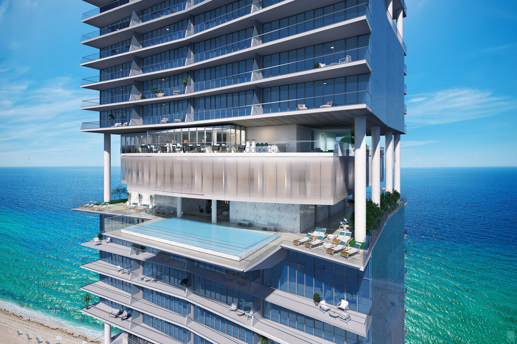Condominio per Vendita alle ore Turnberry Ocean Club 18501Collins Ave 1803 Sunny Isles Beach, Florida, 33160 Stati Uniti