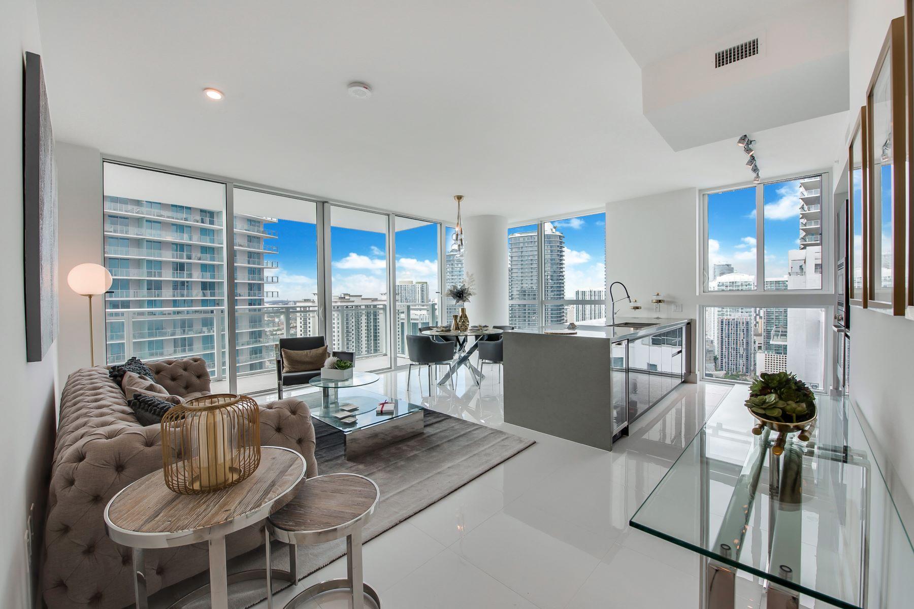 Condominium for Sale at 1080 Brickell Ave 1080 Brickell Ave 3609, Miami, Florida, 33131 United States