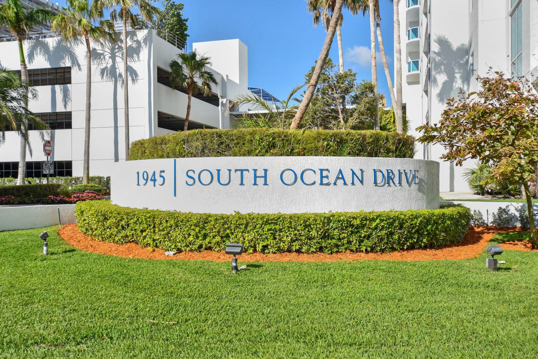 Condominiums için Satış at 1945 S Ocean Dr M12, Hallandale, Florida 33009 Amerika Birleşik Devletleri