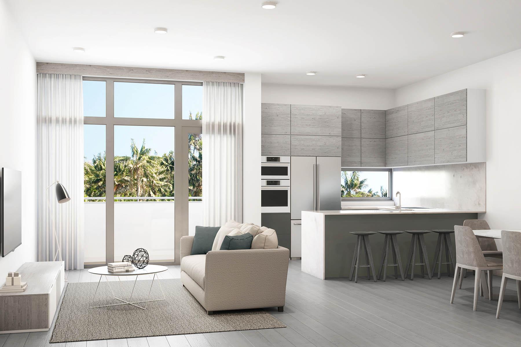 townhouses für Verkauf beim 2924 Bird Avenue 1, Coconut Grove, Florida 33133 Vereinigte Staaten