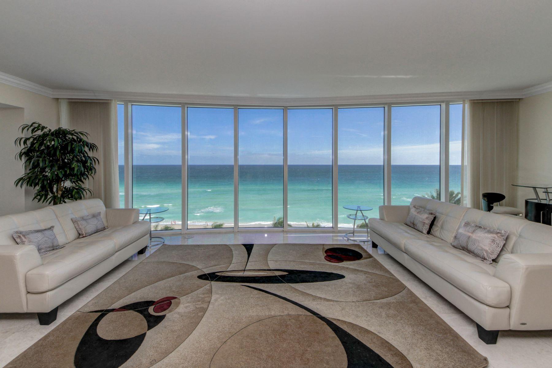 Appartement en copropriété pour l Vente à 18911 Collins Ave #801 18911Collins Ave 801 Sunny Isles Beach, Florida, 33160 États-Unis