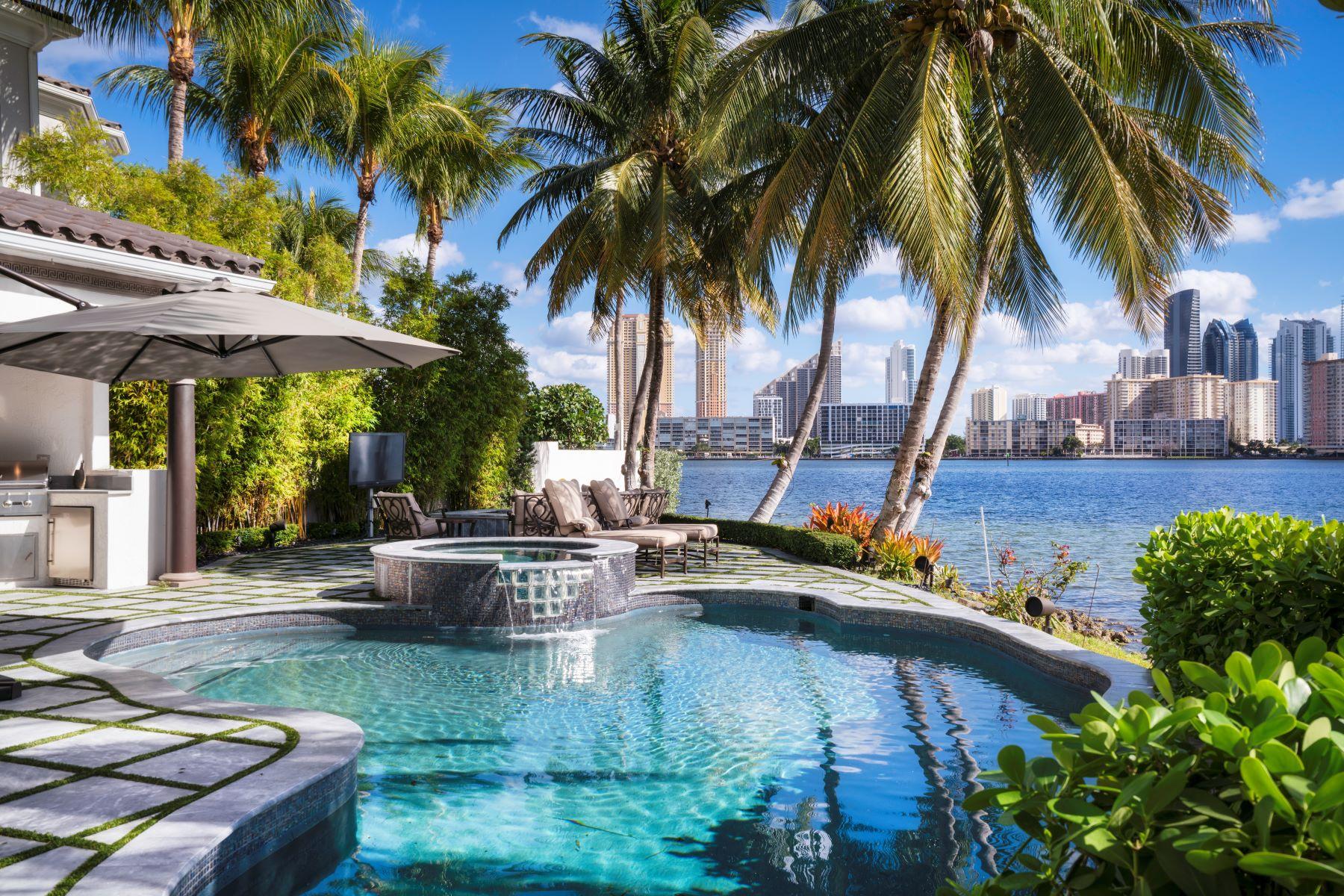 single family homes for Sale at 3914 Island Estates Dr Aventura, Florida 33160 United States