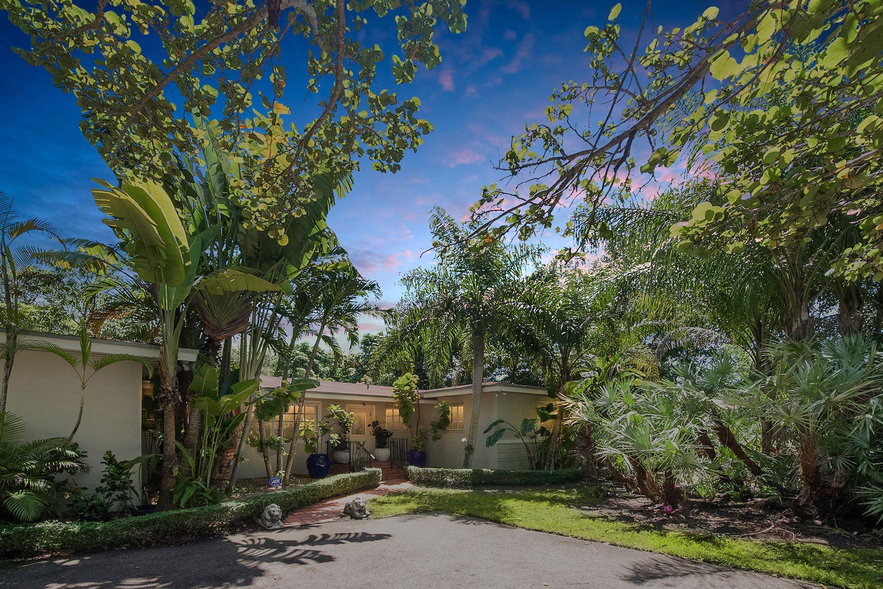 独户住宅 为 销售 在 6631 Sw 72 Court 迈阿密, 佛罗里达州, 33143 美国