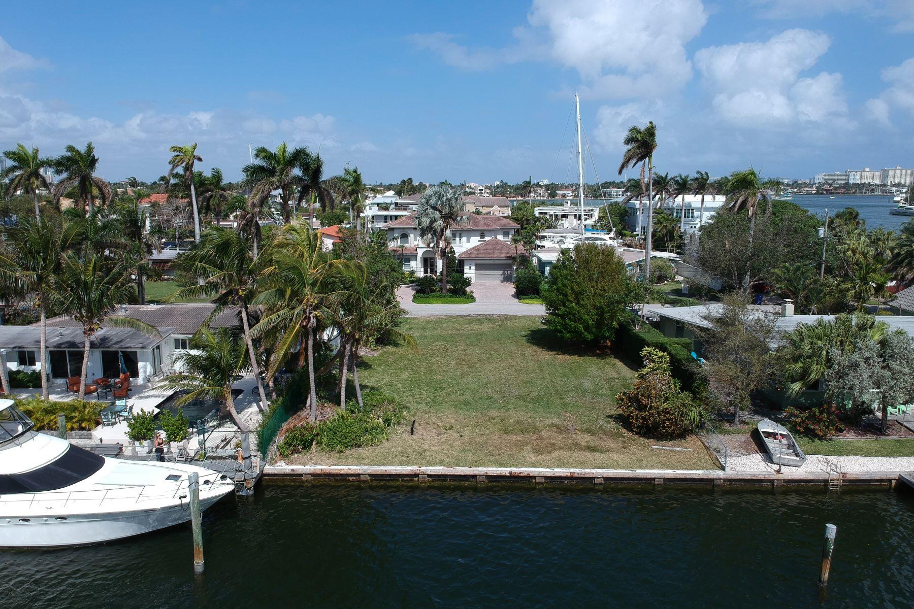 土地 為 出售 在 Lauderdale Harbors 70 ft Waterfront vacant lot 1736 Se 14th St, Fort Lauderdale, 佛羅里達州, 33316 美國