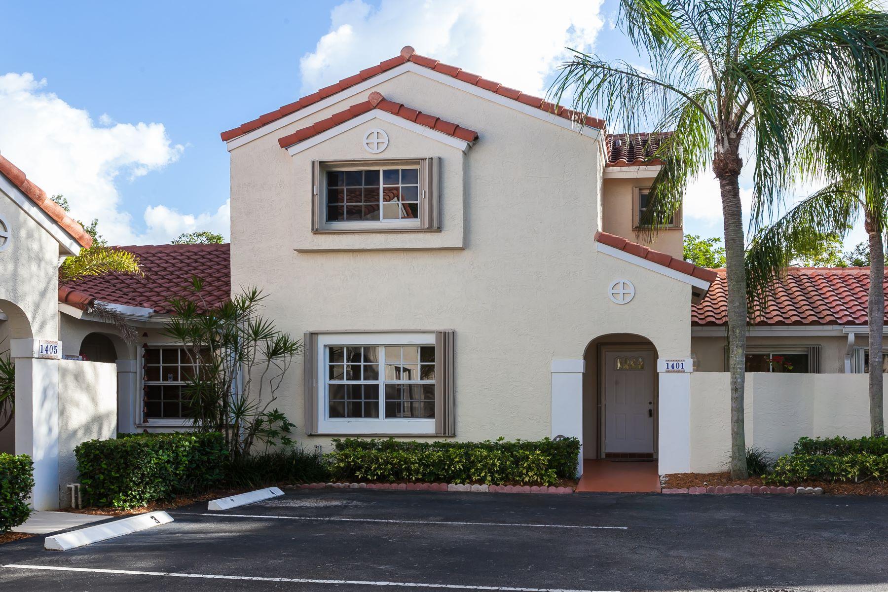 Casa unifamiliar adosada (Townhouse) por un Alquiler en 1401 Springside Dr 1401 Springside Dr 1401, Weston, Florida, 33326 Estados Unidos