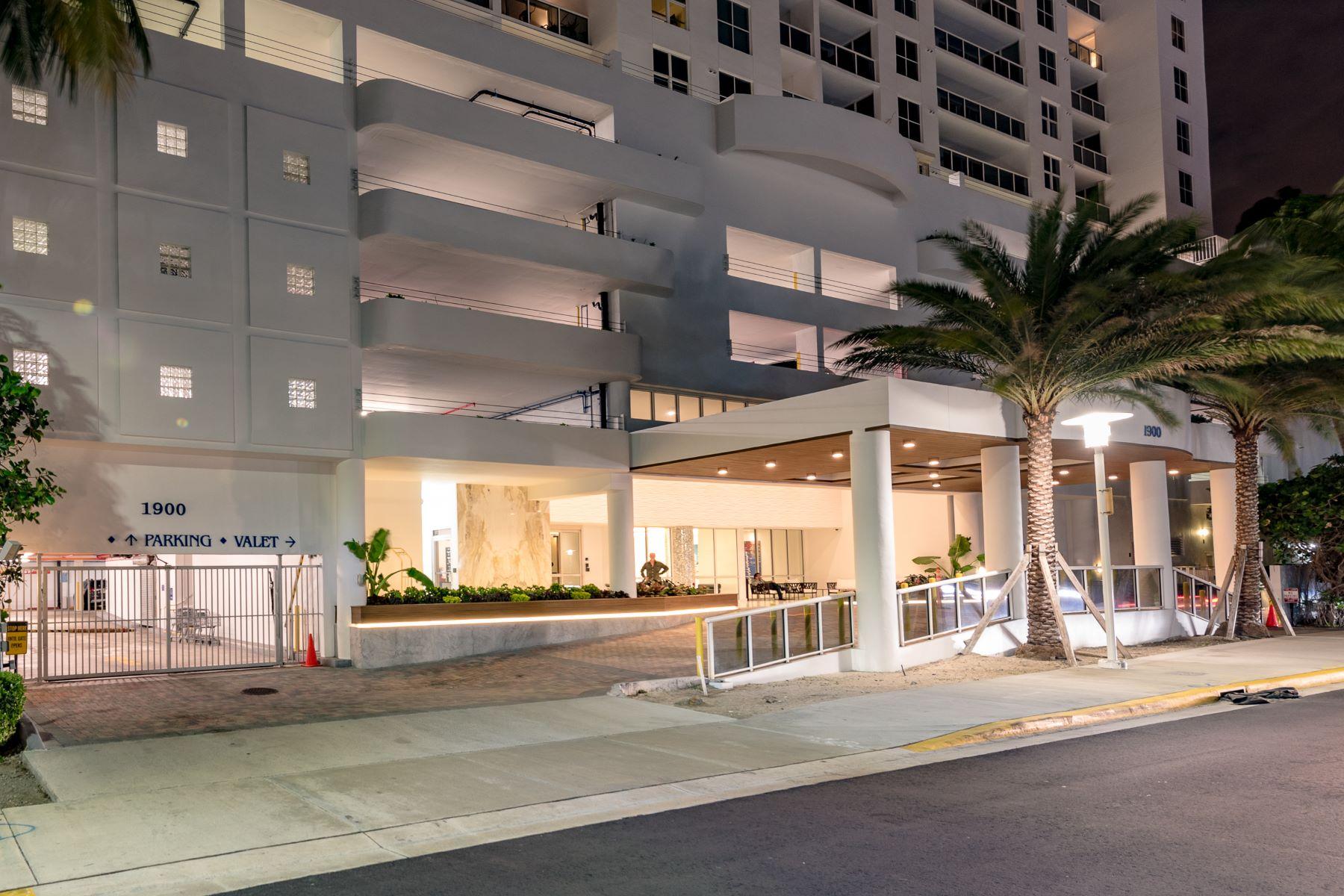 콘도미니엄 용 매매 에 1900 Sunset Harbour Dr #2009 1900 Sunset Harbour Dr 2009 Miami Beach, 플로리다, 33139 미국