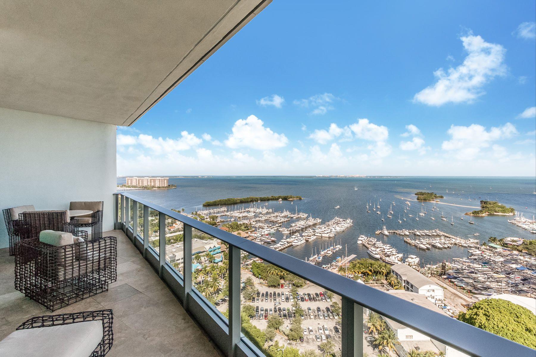 Condominium for Rent at 2627 S Bayshore Dr #2704 2627 S Bayshore Dr 2704 Miami, Florida 33133 United States
